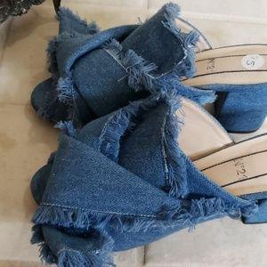 Blue Jean shoes